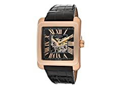 Men's Part See Thru Black/Bronze Watch