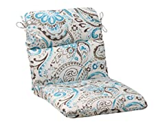 Outdoor Cushions-Paisley-Blue-6 Sizes