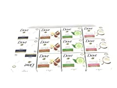 Dove Bar Soap Variety Pack 12 Count 135g