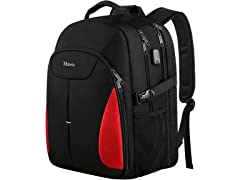 Matein AIO Travel Backpack, Red
