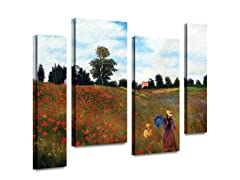 Red Poppies at Argenteuil (2 Sizes)