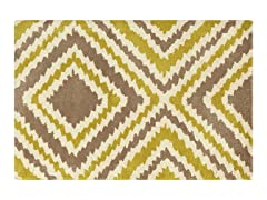Taupe Hand Tufted Rugs 4-Sizes