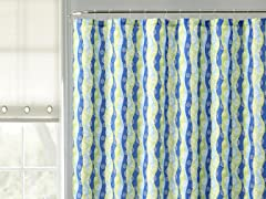 Abbot Embossed Shower Curtain