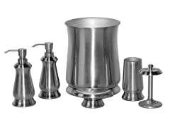 Kendrick Brushed Nickel 6-Piece Bath Set