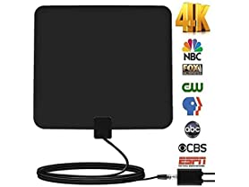 Indoor HDTV Antenna w/ 85 Mile Range
