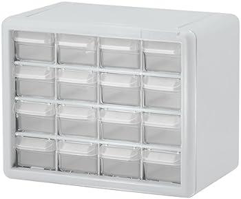 16-Drawer Akro Mils Plastic Storage Cabinets