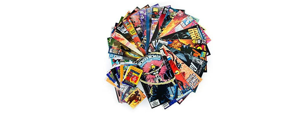25 Random Comics + 10 Collector Cards!