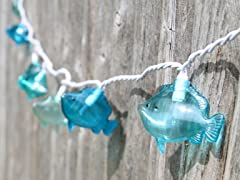 Fish String Lights- 10 Count