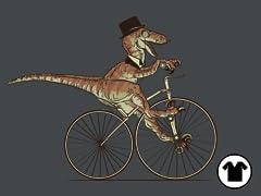 Villainous Victorian Velociraptor V-Neck
