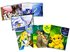 Disney Padded Book Bundles - Your Choice