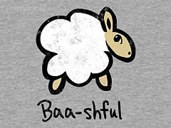 Baa-shful