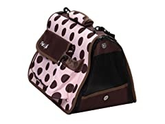 Pet Life Airline Approved Pet Carrier - Polka Dot