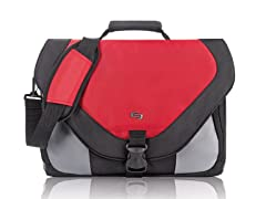 "Solo Active 17.3"" Messenger - Red"