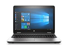 "HP ProBook 650-G3 15"" FHD i5 500G Laptop"