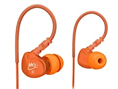 M6 In-Ear Sport Earbuds - Orange