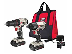 Porter-Cable Drill/Driver and Impact Driver