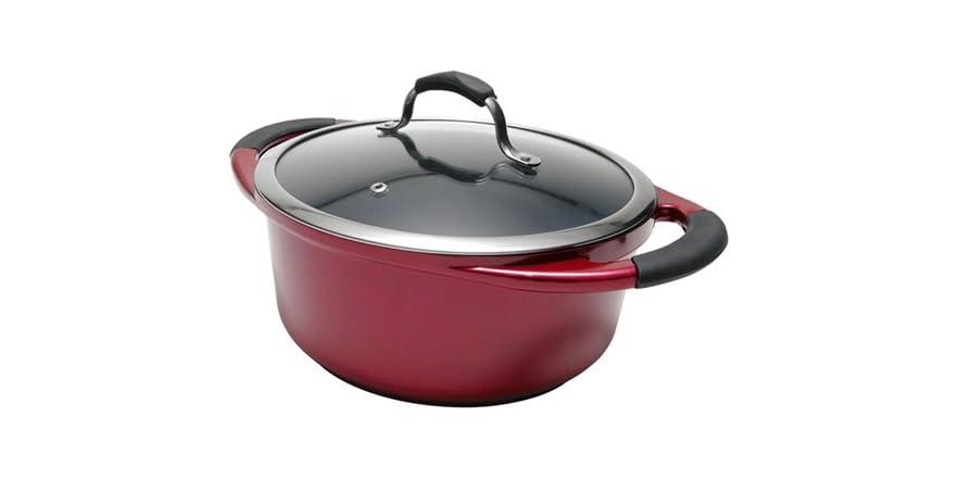 5 quart stock pot home kitchen
