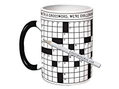 The UPG Crossword Puzzle Mug