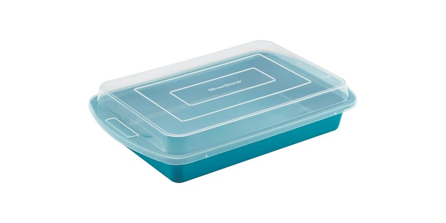 Silverstone Ceramic 9x13 Quot Cake Pan W Lid