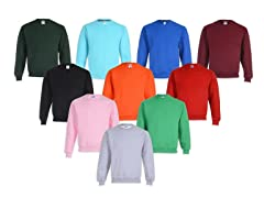 Jerzees Fleece Lined Sweatshirt 3-Pack