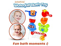 Fun Bath Waterfall Spout Toys