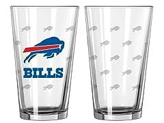 Bills Pint Glass 2-Pack