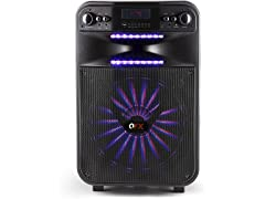 """QFX 15"""" Party Sound System w/ Microphone"""