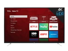 "TCL 43"" Class 4-Series 4K Roku Smart TV"