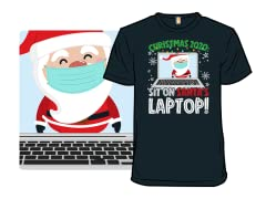 Sit On Santa's Laptop!