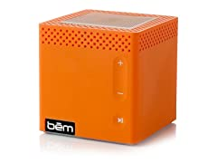 Clemson Tiger Orange Bluetooth Speaker