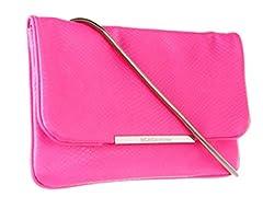 BCBG Nadia Crossbody Bag, Neon Pink