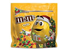 M&M'S Christmas Peanut Chocolate Candy Party Size