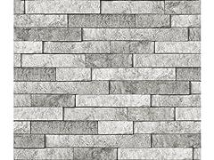 Grey Stone Backsplash