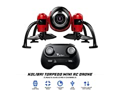 Kolibri Torpedo Mini RC Drone w/ Camera