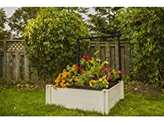 3 x 3 Raised Garden Bed with Trellis
