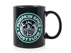 Pumpkin Spice Must Flow - Ceramic Mug