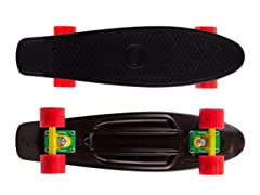 Mayhem Black Rasta Skateboard