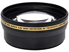 Xit 2.2x HD TelePhoto Lens - 2pk