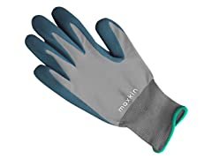 Maxkin 6 Pairs Gray Latex Foam Gloves
