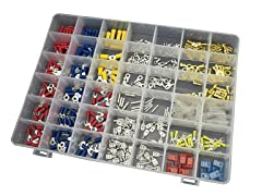 450pc Automotive Wiring Connector Kit