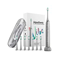 AquaSonic VIBE Series UltraSonic Whitening Toothbrush