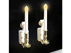 Solar Candles, 2-pk