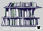 Books – No Electricity Required