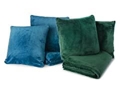 Cozy Throw and 2pc Pillow Set