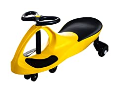 Lil' Rider Wiggle Car - Yellow