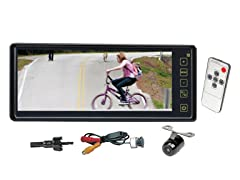 "8.1"" LCD Monitor w/Universal Mount & Camera"