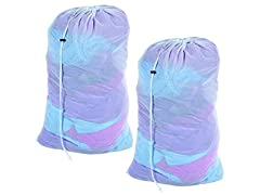 Mesh Laundry Bags - Set of 2