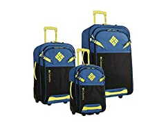 Columbia Hawser 3 Piece Luggag