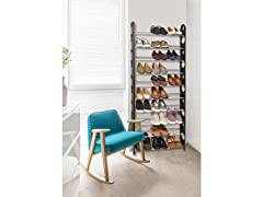 10 Tier Stackable Shoe Rack