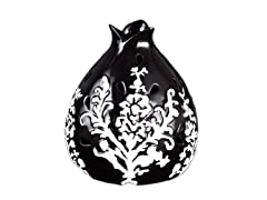 Black Flower Decorative Fragrance Warmer